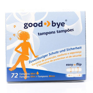 good-bye Tampon mini